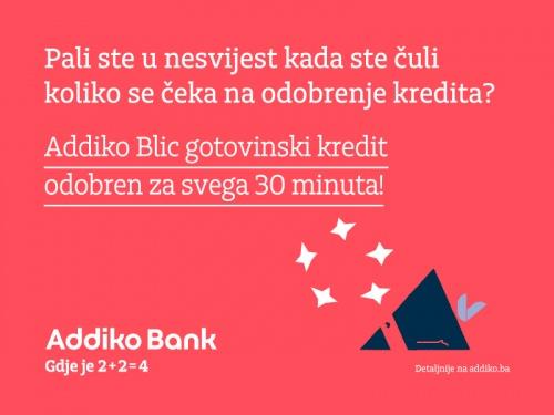 Addiko Bank Addiko Blic Gotovinski Kredit