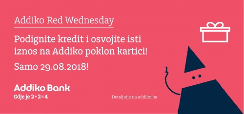 Addiko Bank Addiko Red Wednesday