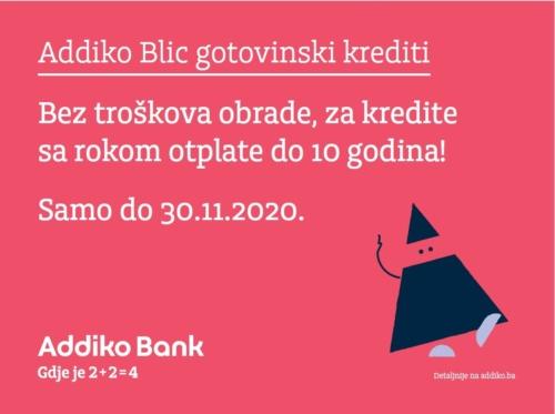 Addiko Bank Iskoristite Posebnu Ponudu