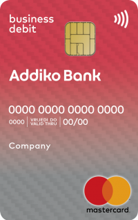 Addiko Business Debit Kartica