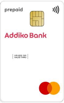 Addiko Mastercard Prepaid Kartica