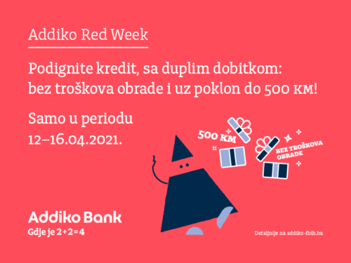 Addiko Red Week April