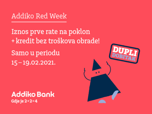 Addiko Red Week Februar
