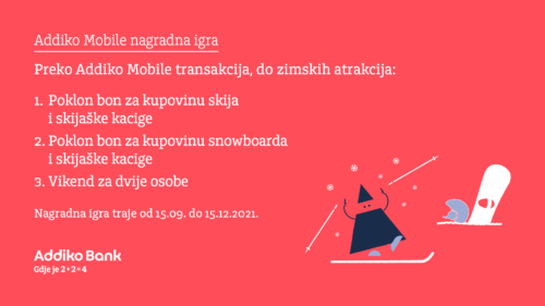 Addiko Mobile Nagradna Igra