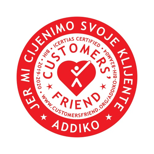 Icf Certified We Care 2019 Bih Addiko R1 Red