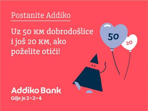 Postanite Addiko